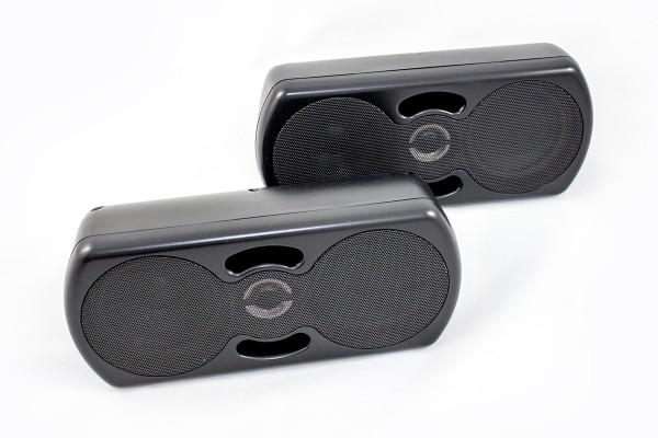 Sinustec UB-5000 3-Wegesystem Lautsprecher Carhifi 3-Wegelautsprecher Autohifi Gartenhaus