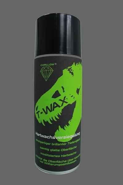 Carillow T-WAX ( 6 Dosen ) ( Waxilla ) Hartwachsversiegelung in der Spraydose einfach aufzutragen für den schnellen Tiefenglanz für Autolacke Lackschutz, ideal für Autos Oldtimer die auf Messen, Show and Shine und Tuningtreffen schnellen Tiefenglanz haben