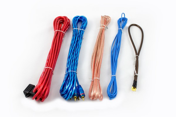 Sinustec BCS-600 Kabelset 6 mm² Batteriekabel Massekabel Cinchkabel Sicherung