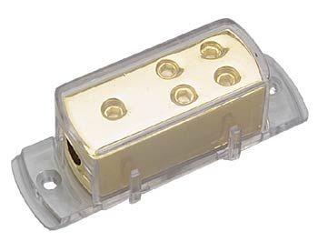 Sinuslive VB1-4 4-fach Stromverteiler, Eingang bis 25 mm² | Ausgang 4 x 10 mm²