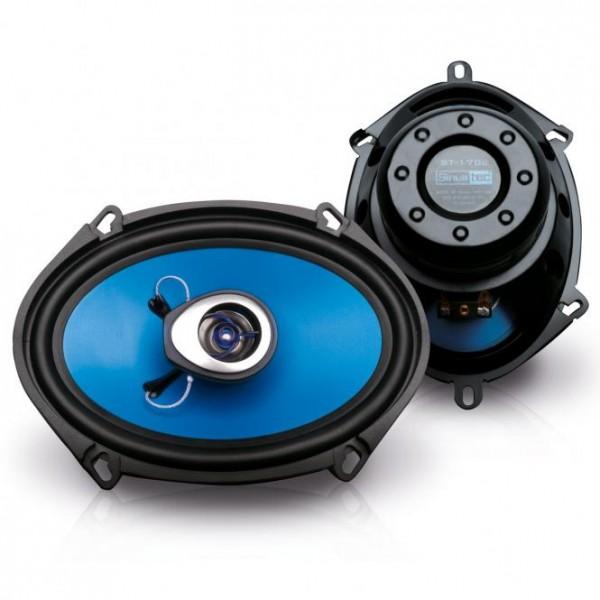 Sinustec ST-170c ovale Koaxiallautsprecher Coax-System 5 x 7 [14 x 19 cm] 2 x 150W rms
