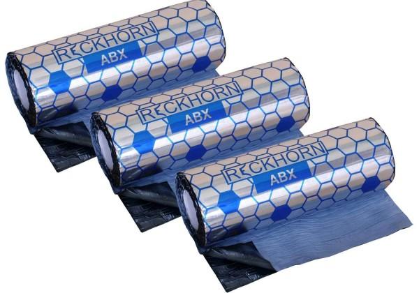 Reckhorn Alubutyl 6 m² / 3 Rollen / 40 cm x 5 m / Stärke 2,0 mm / 1,9 mm Butyl 0,1mm