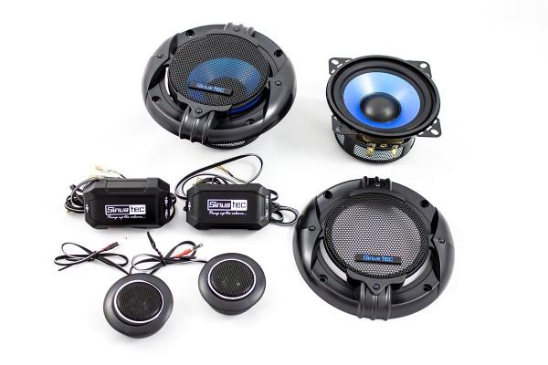 Sinustec ST-100 2-Wegesystem Lautsprechersystem Durchmesser 10 cm
