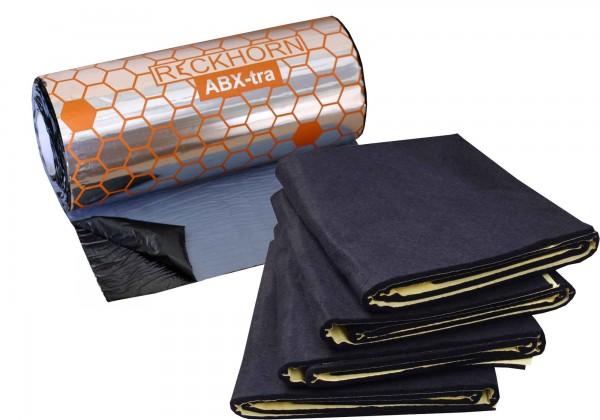 Reckhorn Alubutyl 1 x ABX-tra 2,5m² / 2,5 mm dick + 1 x DV-10i 4 Matten