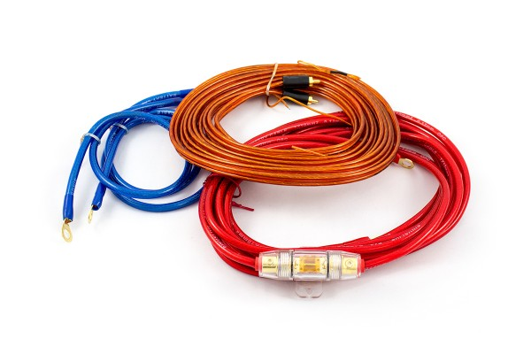 Sinuslive KS-10 Kabelset 10mm² Stromkabel Batteriekabel Massekabel Cinchkabel Sicherung