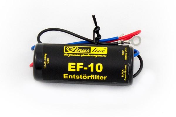 Sinustec EF-10 Entstörfilter 10 Ampere Entstörfilter galvanische