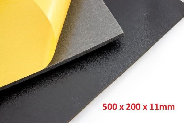 Dämmschaummatte DSM Matte.500 x 200 x 11mm Schallschutz Kälteschutz Wärmeschutz