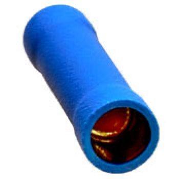 Sinuslive KV-2.5 mm Kabelquetschverbinder vergoldet (10 Stück) im Beutel Quetschverbinder 24-Karat vergoldet und isoliert