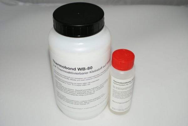 Variotex Thermobond WB-80 auf Wasserbasis incl. Härtersystem WBH-100 / Inhalt: 1000 gr + 120 gr Härter