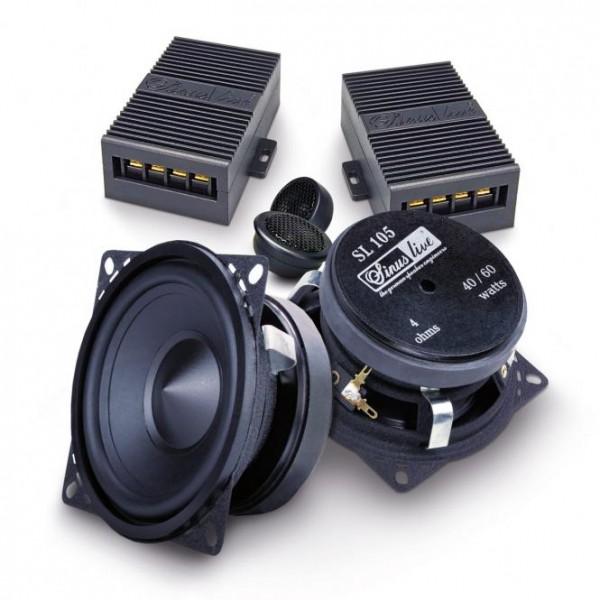 Sinuslive SL-105 10cm 2-Wege System mit Sinuslive Neo-13 Hochtöner 10cm