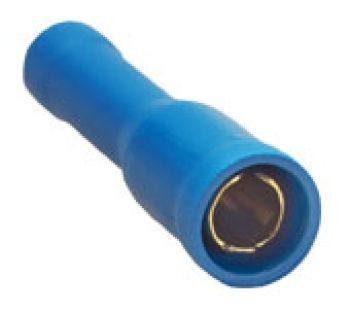 Sinuslive RH-2.5 mm Rundsteckhülsen vergoldet (10 Stück) im Beutel Rundsteckhülsen 24-Karat vergoldet und isoliert