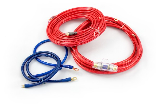 Sinuslive KS-16 Kabelset 16mm² Stromkabel Batteriekabel Massekabel Cinchkabel Sicherung