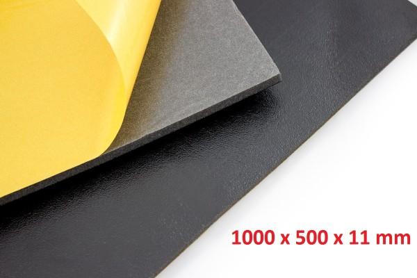 Dämmschaummatte DSM Matte 1 x 1.000 x 500 x 11mm Schallschutz Kälteschutz Wärmeschutz