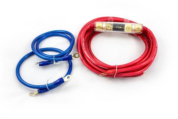 Sinuslive KS-25 Kabelset 25mm² Stromkabel Batteriekabel Massekabel Sicherung