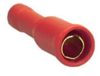 Sinuslive RH-1.5 mm Rundsteckhülsen vergoldet (10 Stück) im Beutel Rundsteckhülsen 24-Karat vergoldet und isoliert