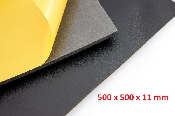 Dämmschaummatte DSM Matte.500 x 500 x 11mm Schallschutz Kälteschutz Wärmeschutz