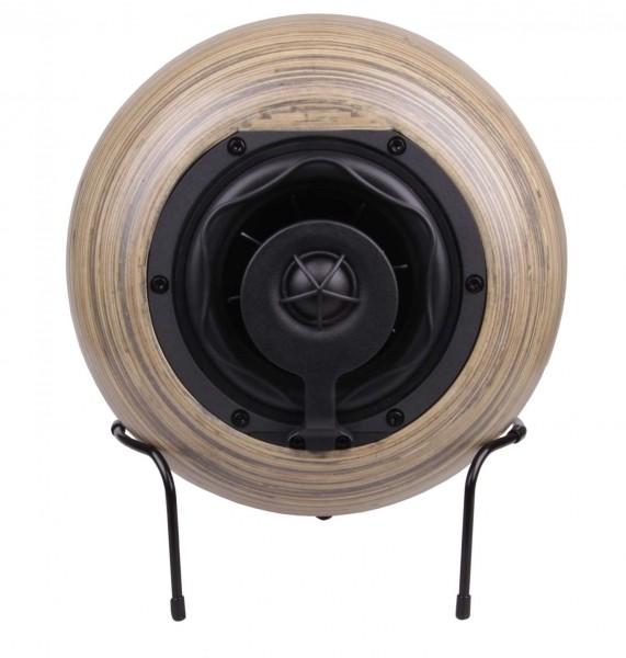 Reckhorn S-230 Koaxial Regallautsprecher Lautsprecher mit 23 cm Bambuskugelgehäuse / 1 Stück