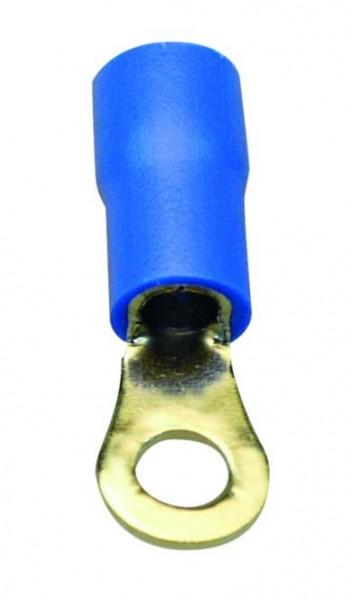 Sinuslive RKS-2.5 Ringkabelschuhe 2.5mm Loch / RKS-2,5, blau: Kabeleingang 1,5mm² bis 4,0mm²