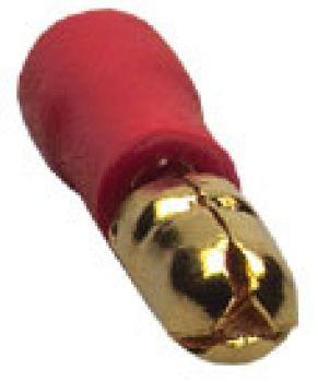 Sinuslive RS-1.5 mm Rundstecker vergoldet (10 Stück) im Beutel Rundstecker 24-Karat vergoldet und isoliert