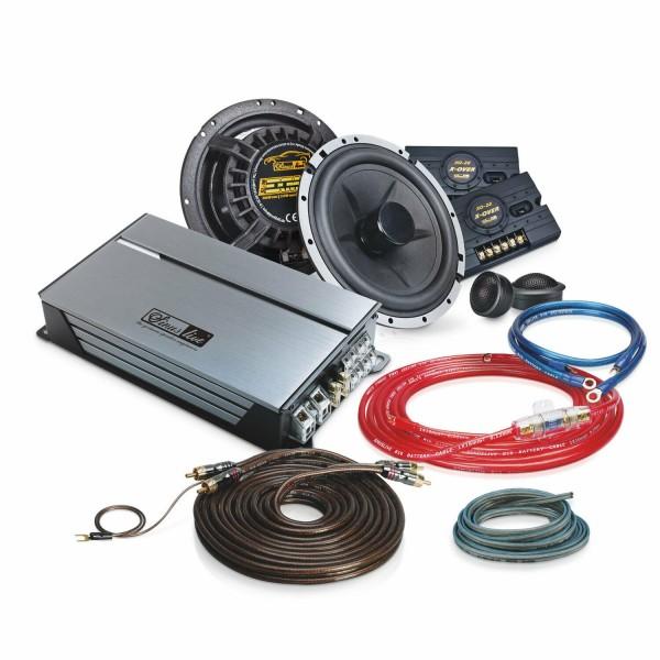 Sinuslive Set Endstufe SL-A4100D mit EXMOD 1630 und Strom- und Lautsprecherkabel
