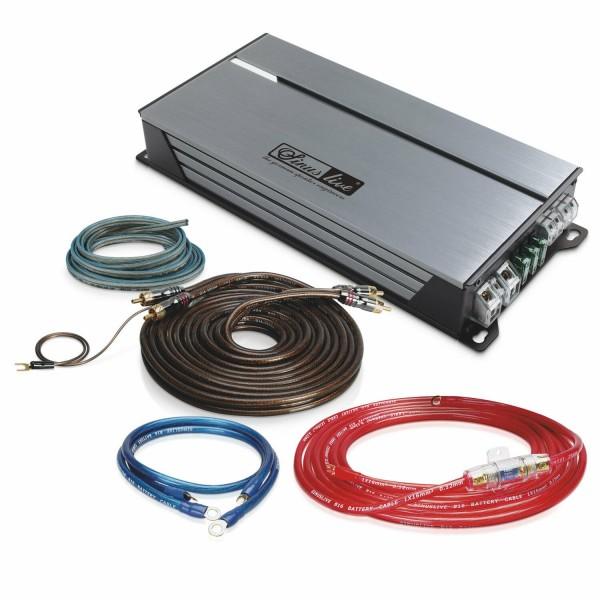 Sinuslive Endstufe Set SL-A1000D Monoblock mit Strom- und Lautsprecherkabel